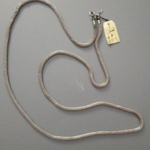Vintage NEW Rare HTF 1950s Trifari Mesh Necklace